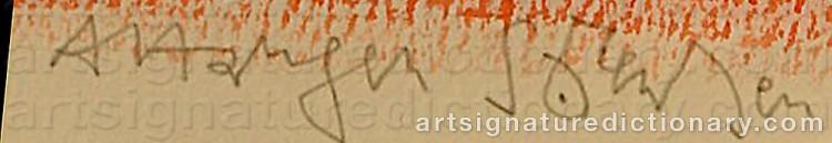 Signature by Arne Haugen SØRENSEN