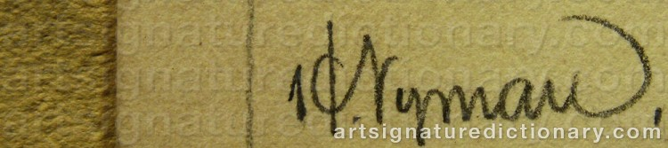 Signature by Hilding NYMAN