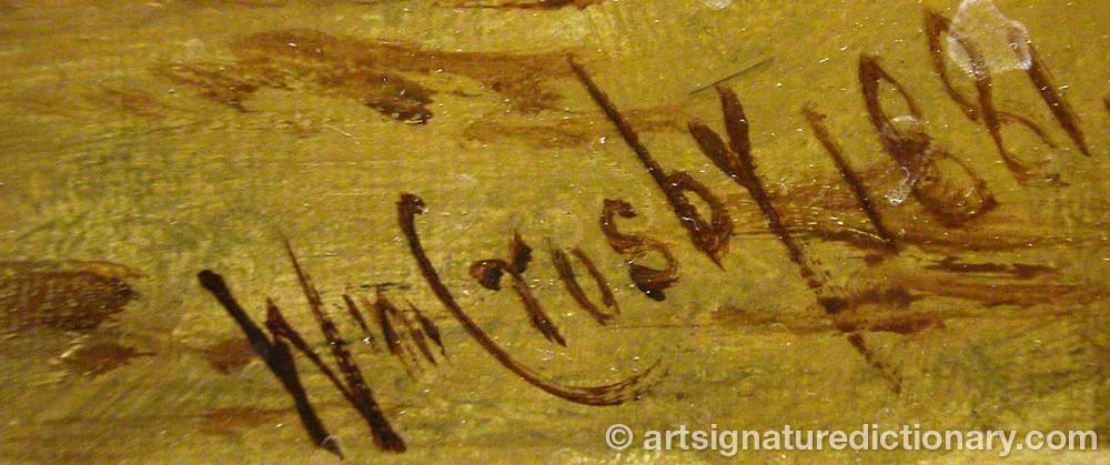 Signature by William CROSBY
