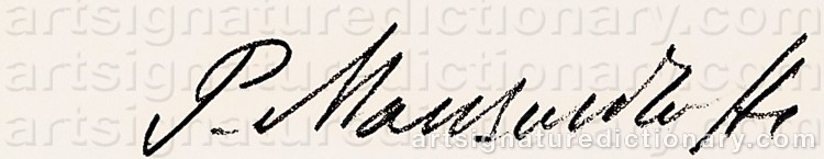 Signature by Paul MANSOUROFF