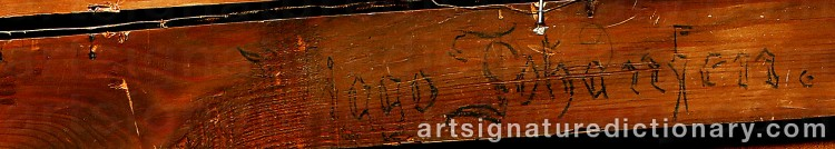 Signature by Viggo JOHANSEN