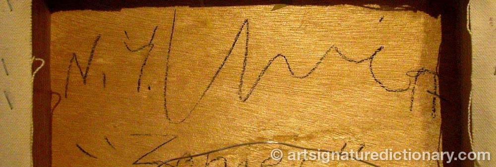 Signature by Juan USLÉ