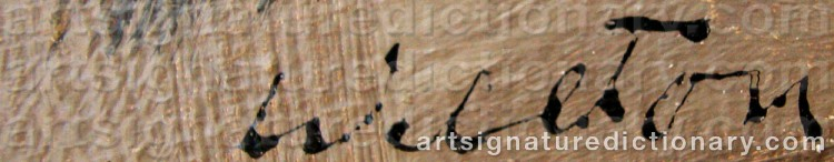 Signature by Lars WELLTON