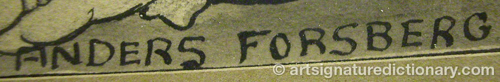 Signature by Anders FORSBERG