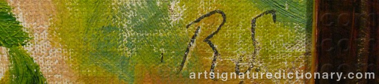 Signature by Ragnar SANDBERG