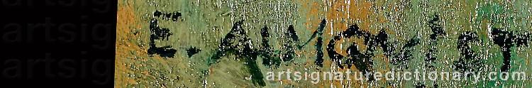 Signature by Ester ALMQVIST