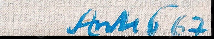 Signature by Horst ANTES