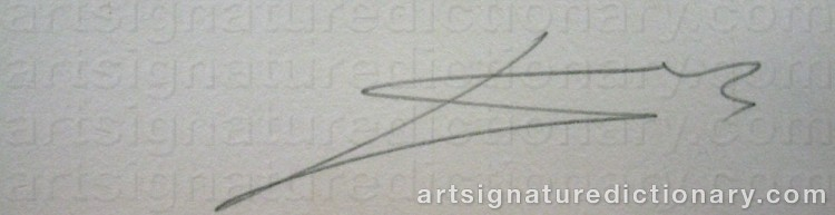 Forged signature of Salvador DALI