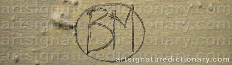 Signature by Britt-Marie 'Bmo' OSKARSSON
