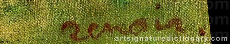 Signature by Pierre Auguste RENOIR