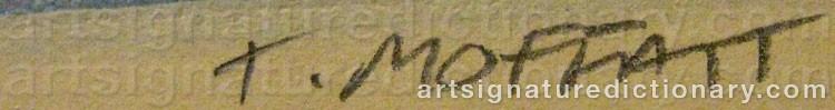 Signature by Tracey MOFFATT