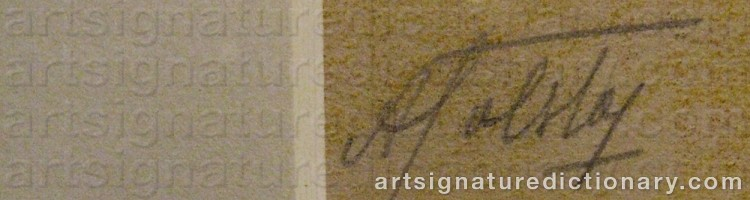 Signature by Alexander TOLSTOY