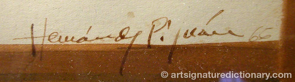 Signature by Joan HERNANDEZ PIJUAN
