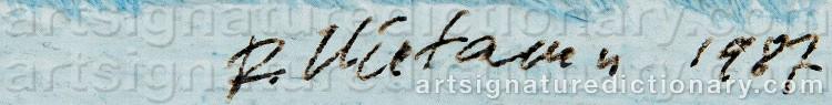 Signature by Reino HIETANEN