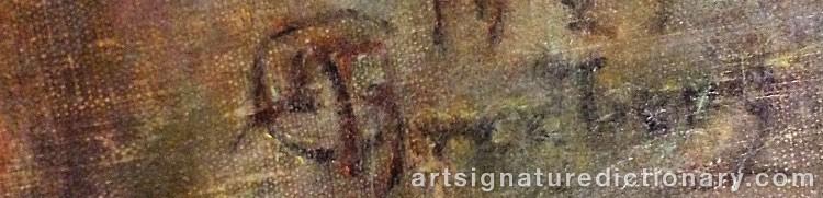 Signature by Wilhelmina 'Mina' CARLSON-BREDBERG