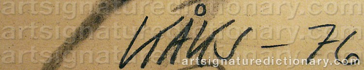 Signature by Olle KÅKS