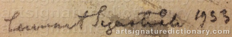 Signature by Lennart SEGERSTRÅLE