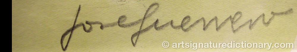 Signature by José GUERRERO