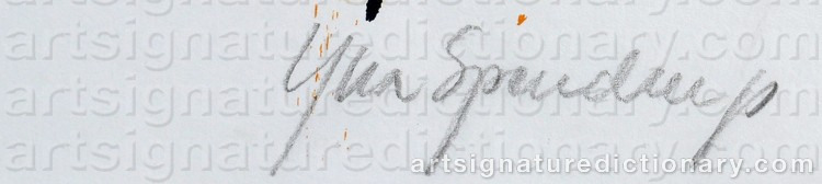 Signature by Yllva SPENDRUP
