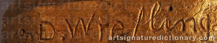 Signature by David WRETLING