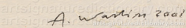 Signature by Anders WALLIN
