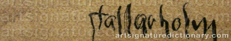 Signature by Uno STALLARHOLM