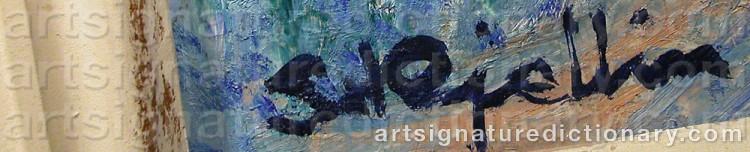 Signature by Stig KJELLIN