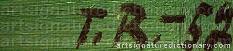 Signature by Torsten RENQVIST