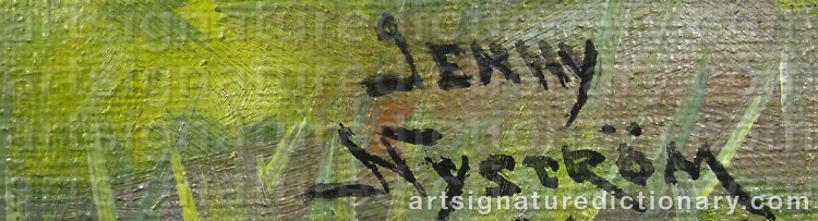 Signature by Jenny NYSTRÖM