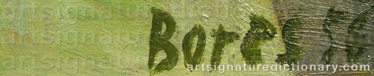 Signature by Francisco BORES
