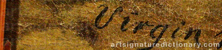 Signature by Gottfrid VIRGIN