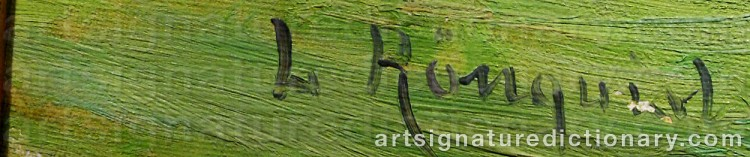 Signature by Lotten RÖNQUIST