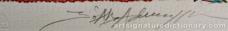 Signature by Bo Åke ADAMSSON