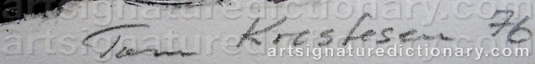 Signature by Tom KRESTESEN