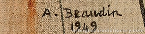 Signature by: BEAUDIN, Andre