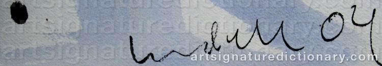 Signature by Ulf LUNDELL