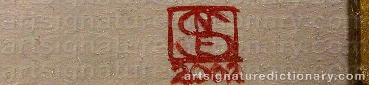 Signature by Niels Erik Von SKOVBALLE