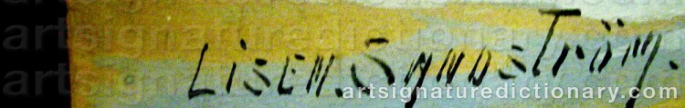 Signature by Theresia Lisen SANDSTRÖM