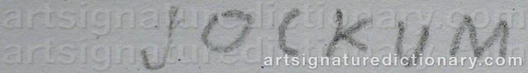 Signature by Jockum NORDSTRÖM