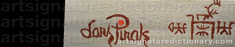 Signature by Lars (Sami Artist) PIRAK
