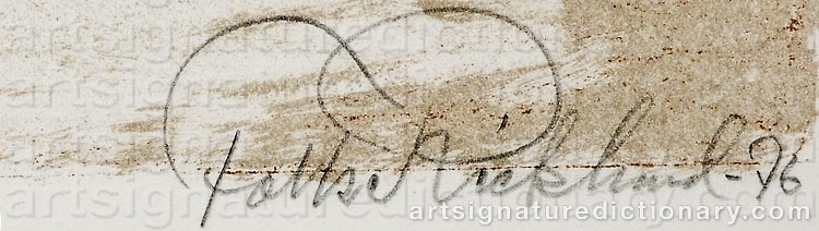 Signature by Folke RICKLUND