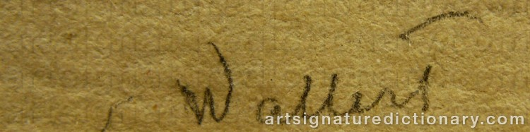 Signature by Axel WALLERT