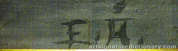Signature by Elis ÅSLUND