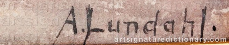 Signature by Amelie LUNDAHL