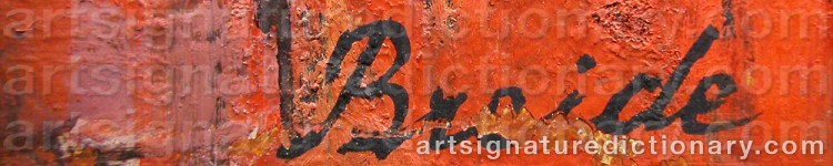 Signature by Hjördis BREIDE