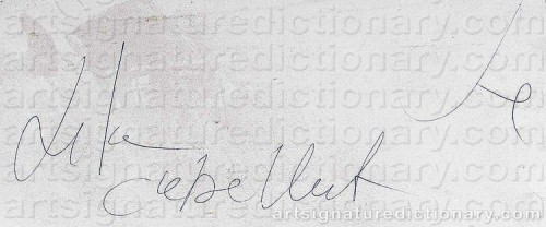 Signature by: CABELLUT, Lita