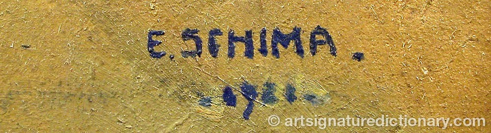 Signature by Elisabeth SCHIMA