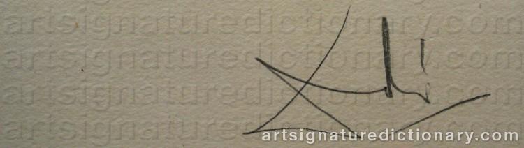 DALI, Salvador | Artist's signatures and monograms ...