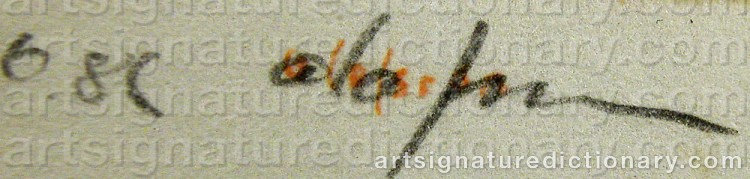 Signature by Pierre OLOFSSON