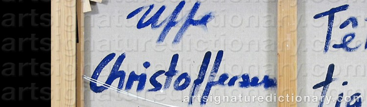 Signature by Uffe CHRISTOFFERSEN